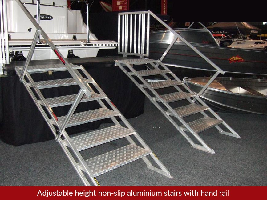 Access Stairs And Ramps Stronglite Staging