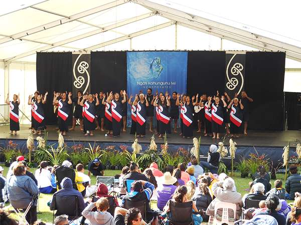 Kapa Haka Stage